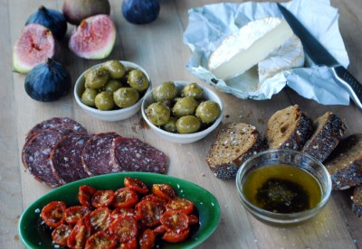 basic tapas spread