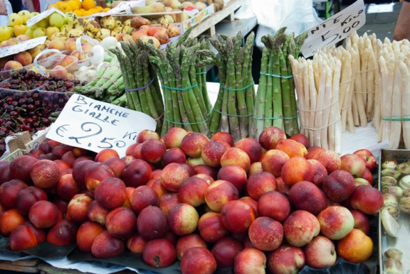 fruit and vegetables at Rialto Market image
