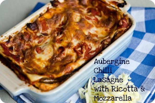 Aubergine Chilli Lasagna Healthy Lasagna Recipe Low Fat