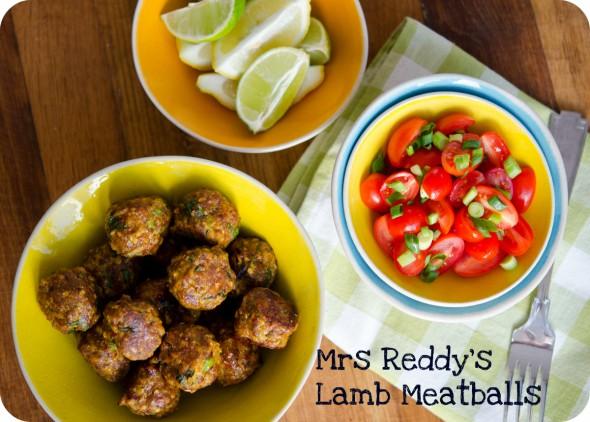Mrs Reddy's Spicy Lamb Meatballs