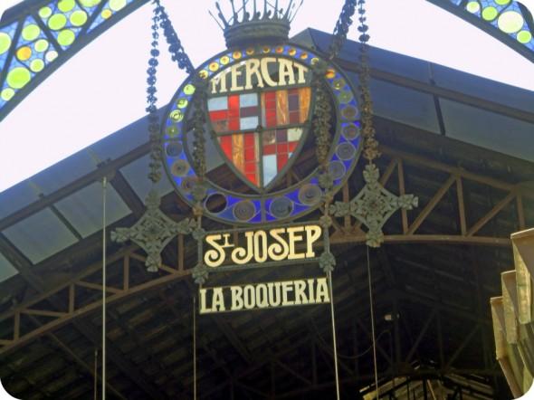 Mercat St Josep La Boqueria Market, image