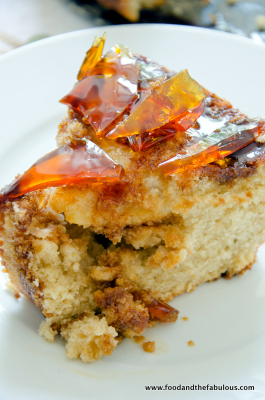 recipe: pear cake with caramel sauce [16]