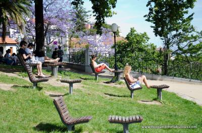 Relaxing in Jardim do Torel