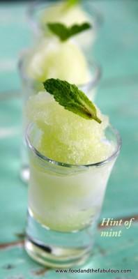 cucumber sorbet image