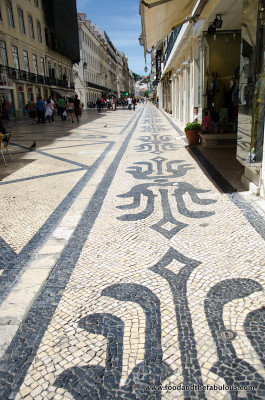 pavements, Lisbon