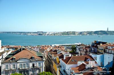 Views from Bairro Alto hotel, lisbon