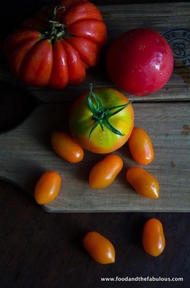 exotic tomato selection
