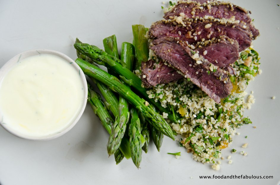 dukkah crusted game image