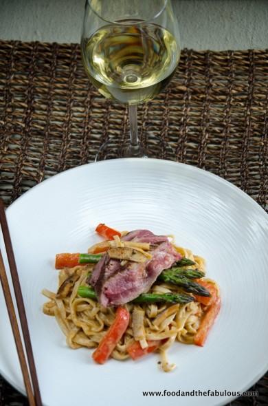 gewurztraminer and Thai food - perfect match