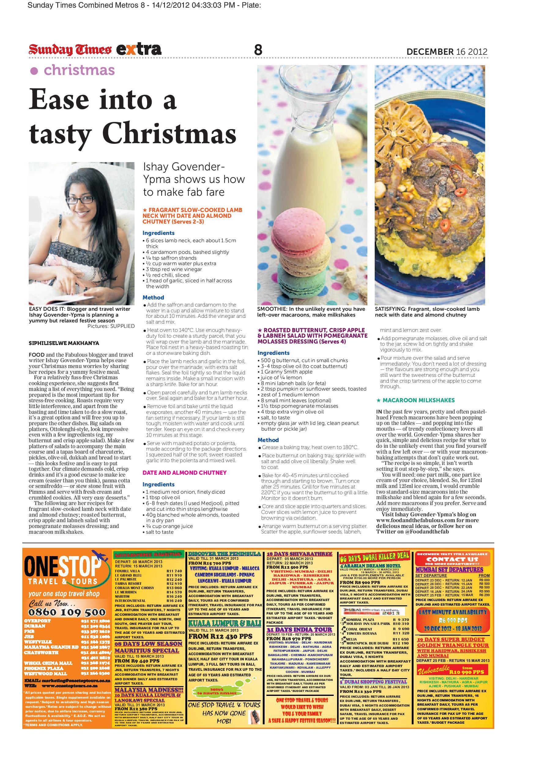 Sunday Times Extra