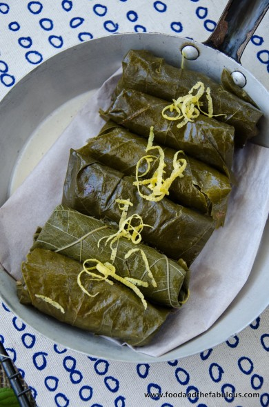 steamed dolmades recipe