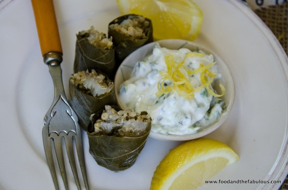 dolmades with fish