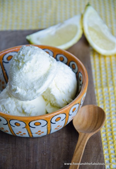 lemon limoncello ice cream