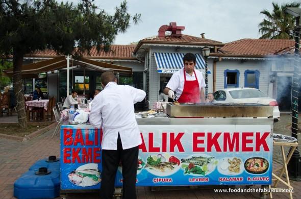 Balik ekmek stand Istanbul