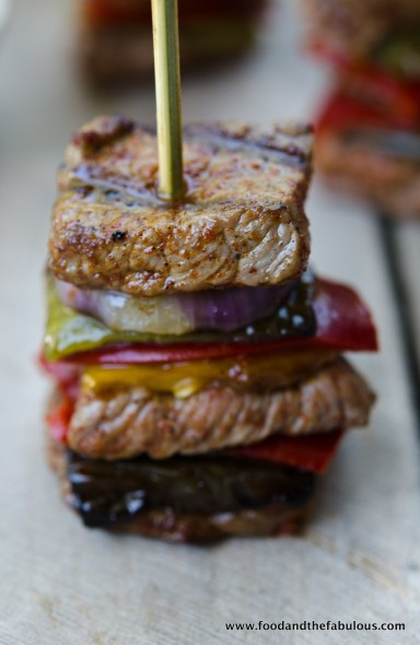 Beef pepper stack image