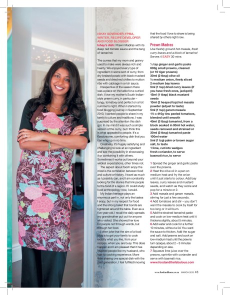 ishay govender Food and Home Entertaining