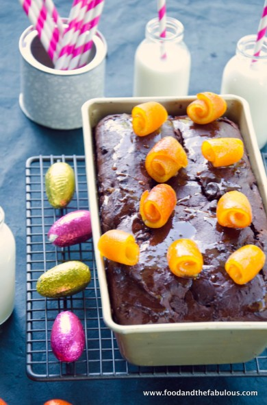 choc orange Easter bread