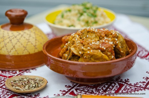 chicken tagine with tomato