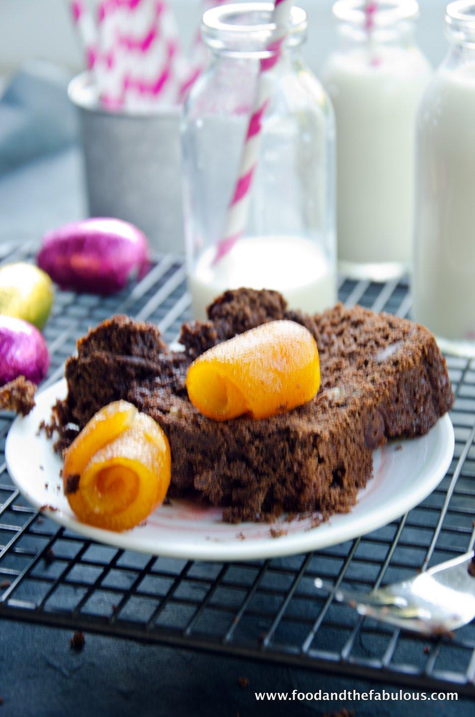 Dark Chocolate & Orange Bread