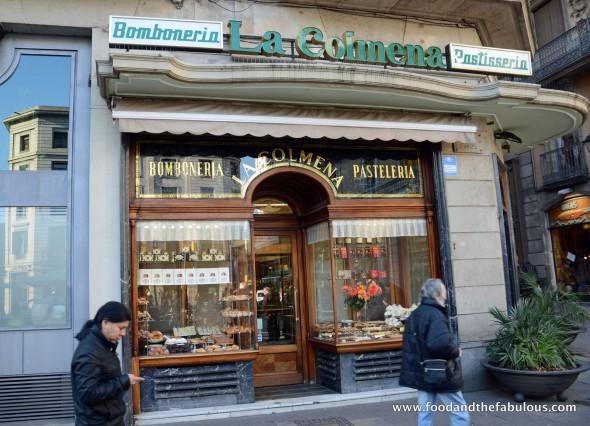 La Colmena bakery