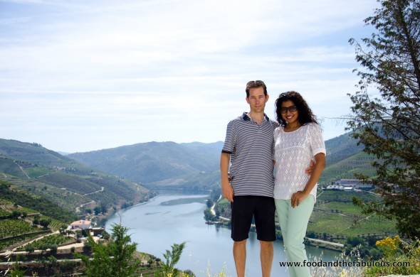 view from Quinta do Crasto