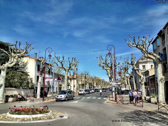 a town called Castelnaudary