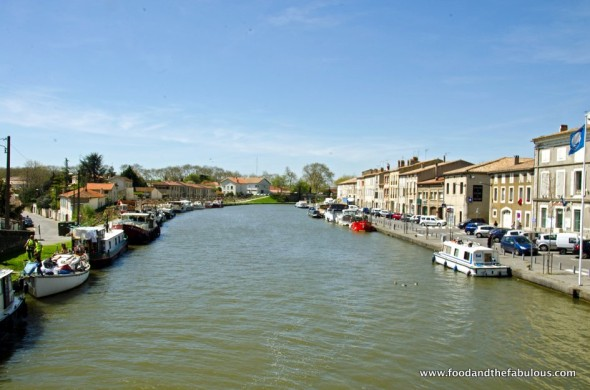 canal in sleepy Castelnaudary