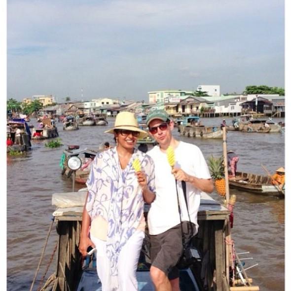 Floating markets, instagram image