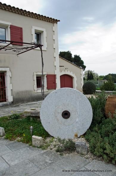 Moulin du Calanquet - original oil press stone