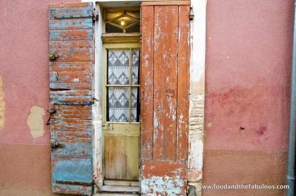 old door in Roussillon