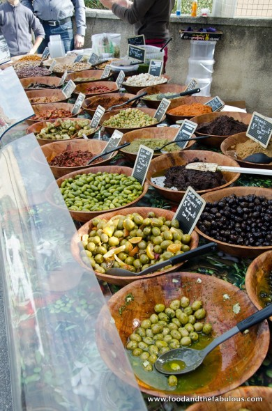 olives from nearby market