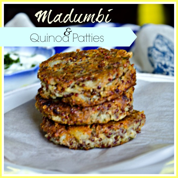Madumbi and Quinoa patties