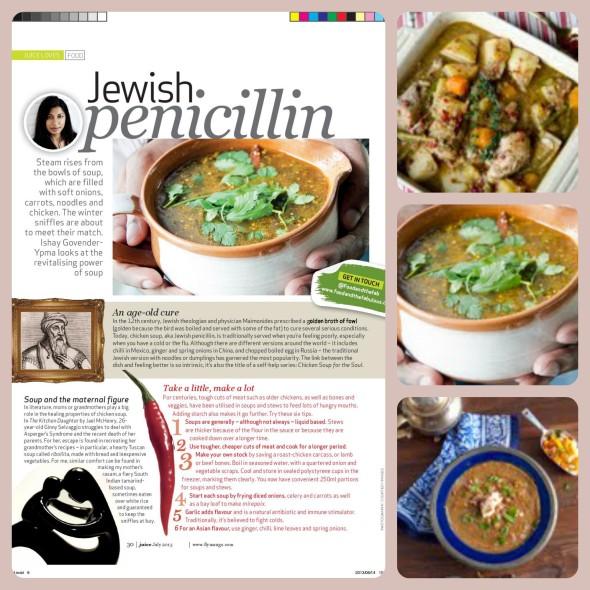 Healing power of soup