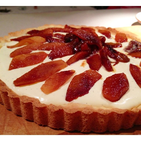 pear tart gluten free base