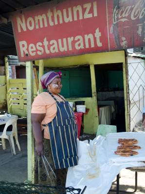 vendor in Khayelitsha