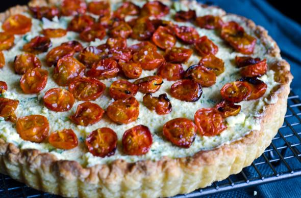 butter pastry tomato tart