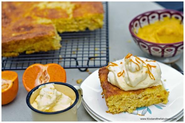 almond flour cake orange