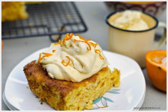 citrus almond flour cake