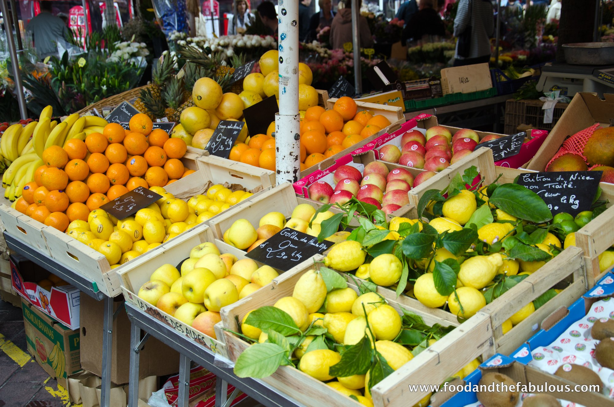 lemons in Nice