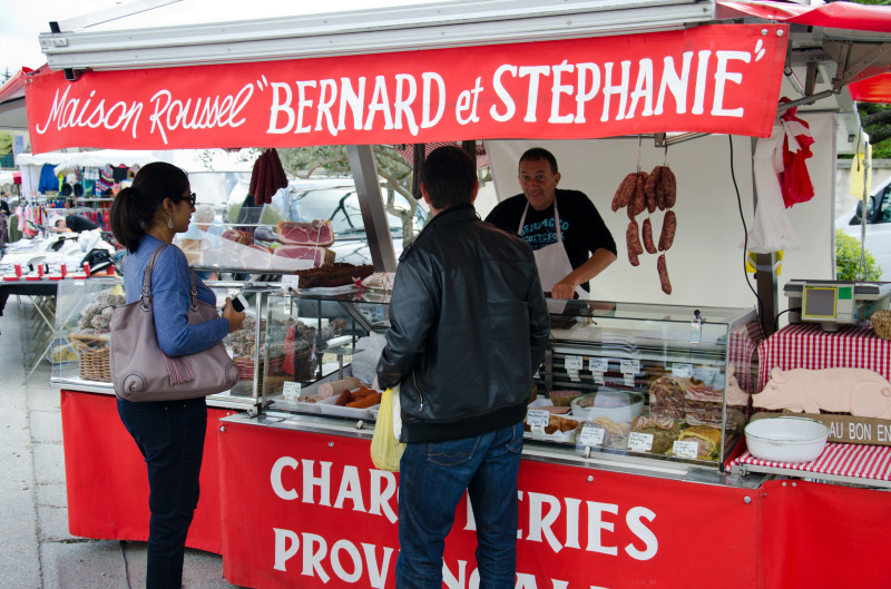 charcuterie stand