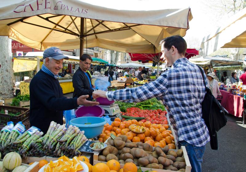 Aix en Provence vendor