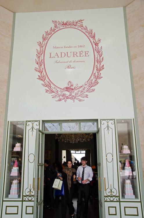 Laduree - the Provence Market alternative in Paris