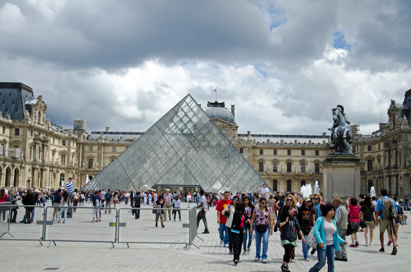 The Louvre - I spend days at a time here