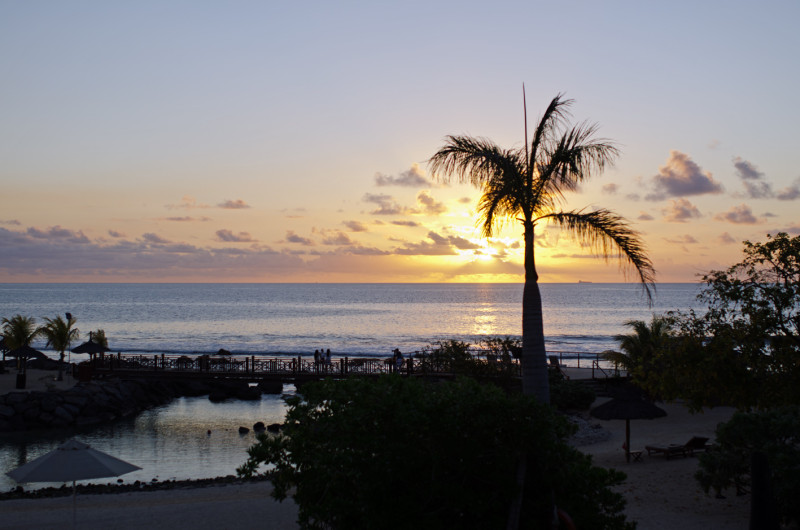 Sunset at Intercontinental Mauritius
