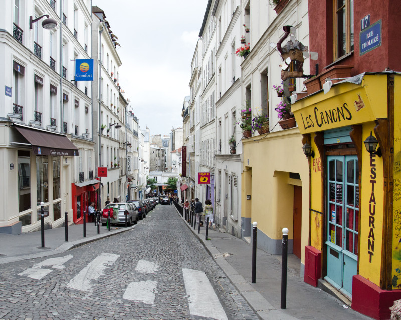 Montmarte - the gorgeous, cobbled streets