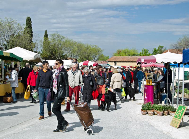 Vaucluse market