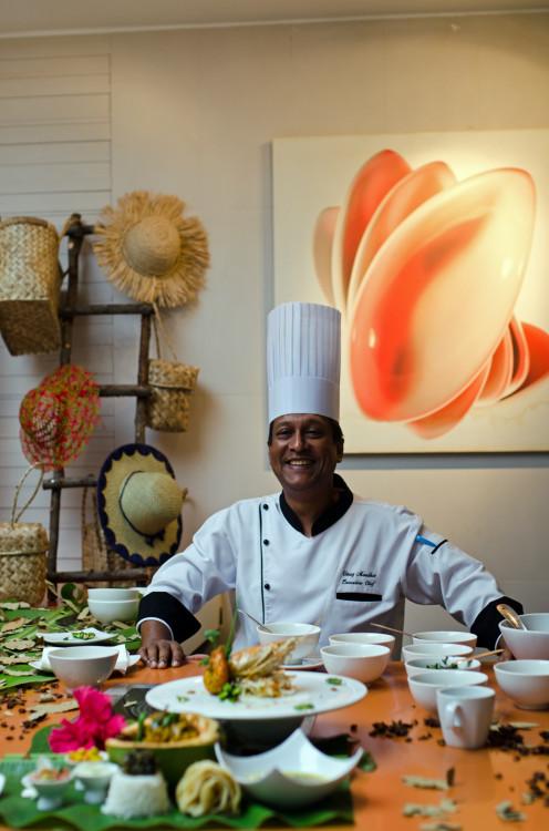Chef Vinay Tamassa Lux Resorts
