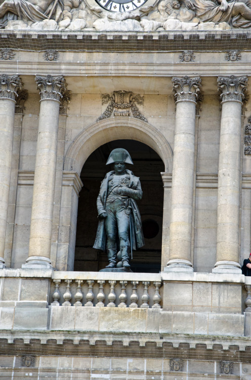 Napoleon at L'Hôtel national des Invalides