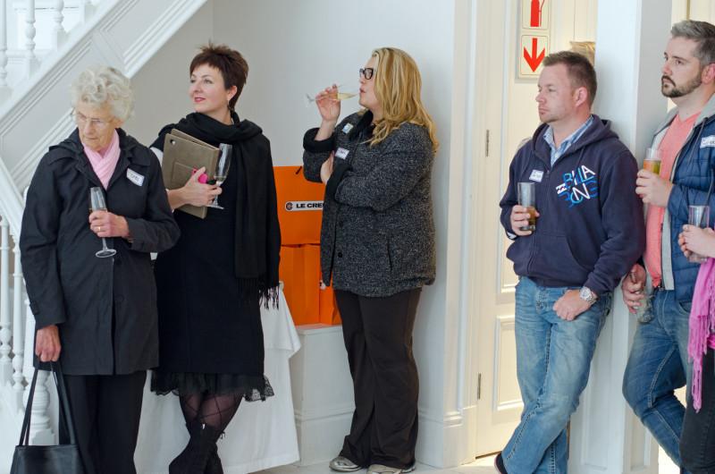Anel Potgieter and Hetta Van Deventer, Anton and Olivier Wagner (with Anel's mom on far left). http://www.foodandthefabulous.com/