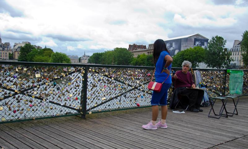 Pont des Arts or Passerelle des Arts Bridge